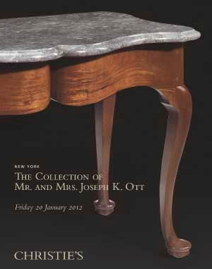 The Collection of Mr. and Mrs. Joseph K. Ott