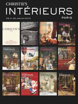 Intérieurs auction at Christies