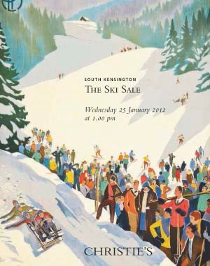 The Ski Sale Including a Private Collection of Swiss Posters