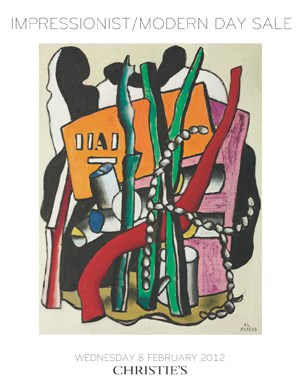 Impressionist / Modern Day Sal auction at Christies