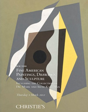 Fine American Paintings, Drawings and Sculpture Including the Collection of Dr. Mark and Irene Kauffman
