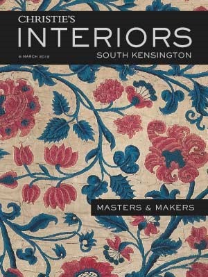 Christies Interiors - Masters  auction at Christies