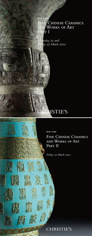Fine Chinese Ceramics and Works of Art (Parts I & II)
