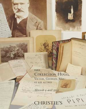 Collection Victor Hugo auction at Christies