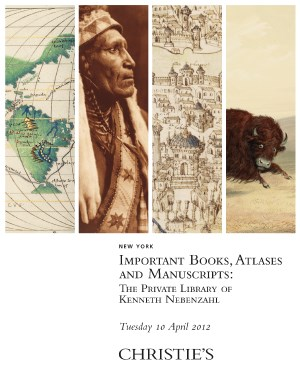Important Books, Atlases and M auction at Christies