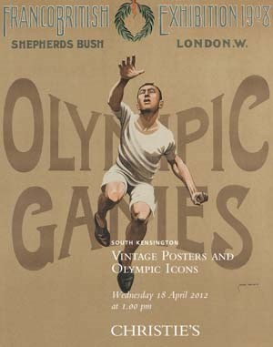 Vintage Posters and Olympic Ic auction at Christies