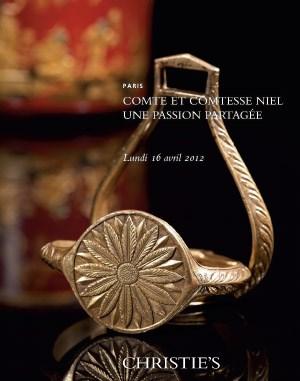 Comte et Comtesse Niel. Une pa auction at Christies