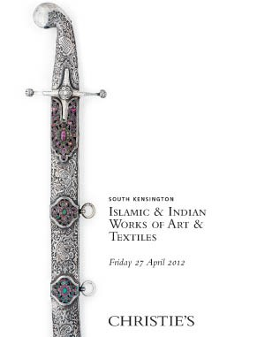 Islamic & Indian Works of Art  auction at Christies