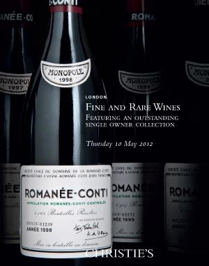 Fine and Rare Wines Featuring an Outstanding Single Owner Collection
