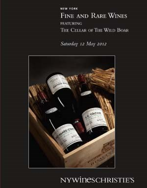 Fine & Rare Wines Featuring the Cellar of the Wild Boar
