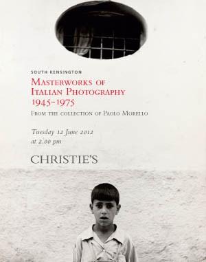 Masterworks of Italian Photogr auction at Christies