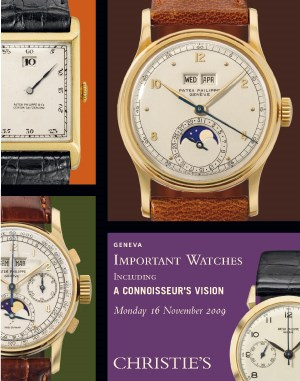 IMPORTANT WATCHES Including A  auction at Christies