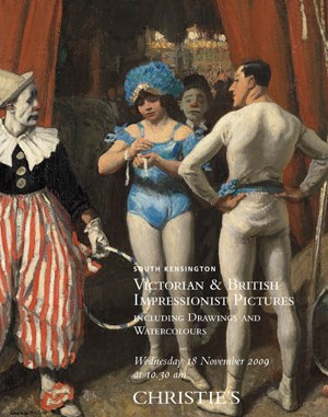 Victorian and British Impressi auction at Christies