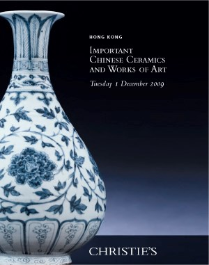 Important Chinese Ceramics and auction at Christies
