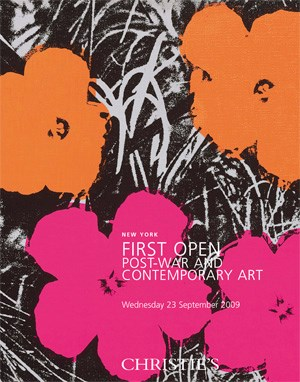 First Open Post-War and Contem auction at Christies