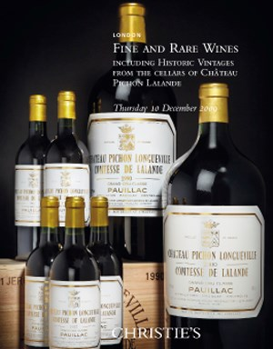 Fine & Rare Wines Including Historic Vintages from the Cellars of Château Pichon Lalande