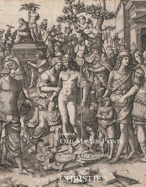 Old Master Prints auction at Christies
