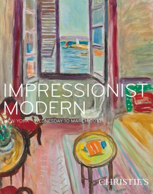 Impressionist Modern  auction at Christies