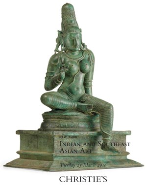 Indian and Southeast Asian Art auction at Christies