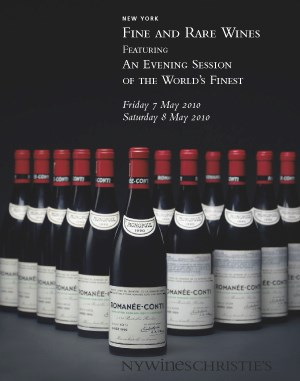 Fine and Rare Wines Featuring An Evening Session of the World's Finest