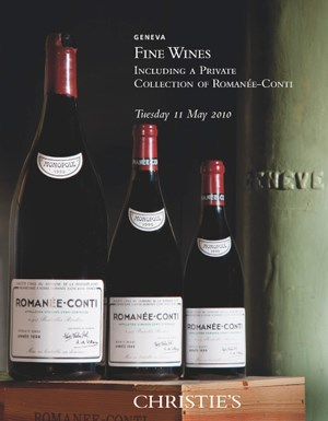 Fine Wines auction at Christies