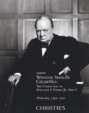 Winston Spencer Churchill: The auction at Christies