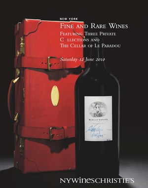 Fine and Rare Wines Featuring Three Private Collections and the Cellar of Le Paradou