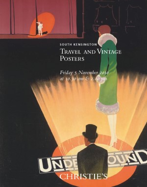 Travel and Vintage Posters auction at Christies