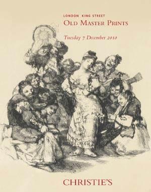 Old Master Prints, Album of 16th Century Engravings