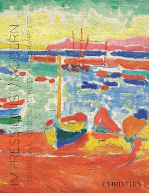 Impressionist/Modern Evening S auction at Christies