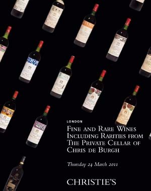 Fine and Rare Wines Including Rarities from The Private Cellar of Chris de Burgh