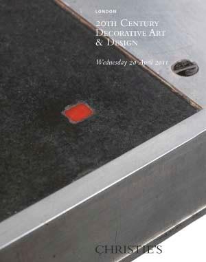 20th Century Decorative Art &  auction at Christies