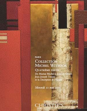 Collection Michel Wittock: qua auction at Christies