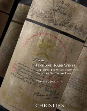 Fine and Rare Wines including Treasures from the Cellar of Sir David Frost
