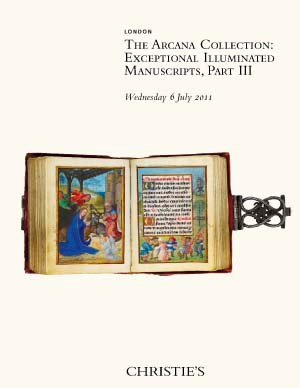 The Arcana Collection: Excepti auction at Christies