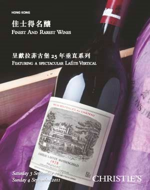 Finest and Rarest Wines Featuring a Spectacular Lafite Vertical