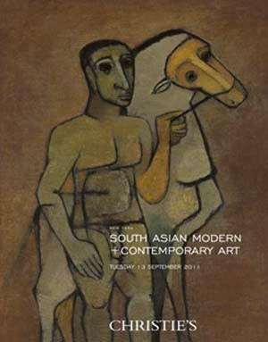 South Asian Modern & Contempor auction at Christies