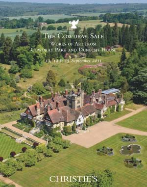The Cowdray Sale: Works of Art auction at Christies
