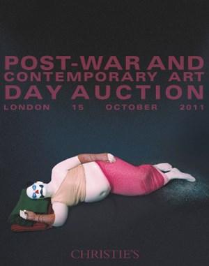 Post-War & Contemporary Art Da auction at Christies