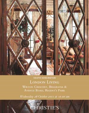 London Living - Wilton Crescen auction at Christies