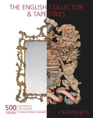 The English Collector & Tapest auction at Christies