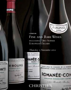 Fine & Rare Wines Including Two Superb European Cellars