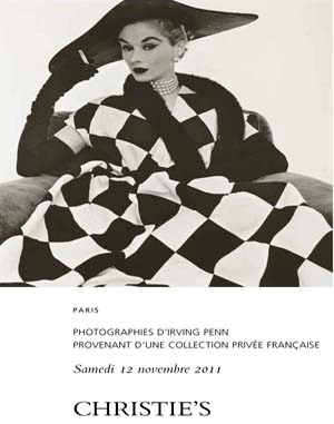 Photographies dIrving Penn pro auction at Christies