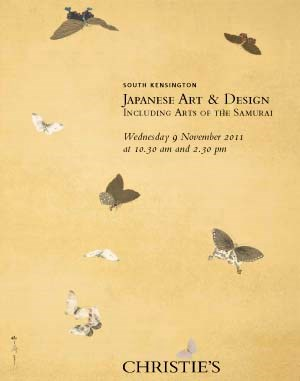 Japanese Art & Design Includin auction at Christies