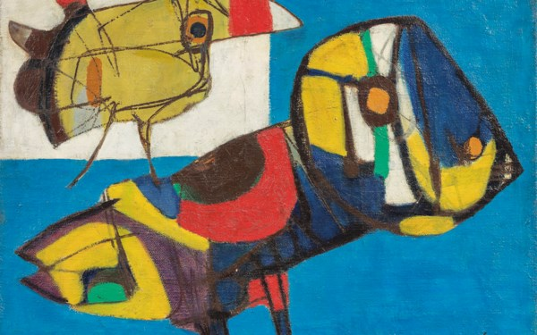 Post-War & Contemporary Art auction at Christies