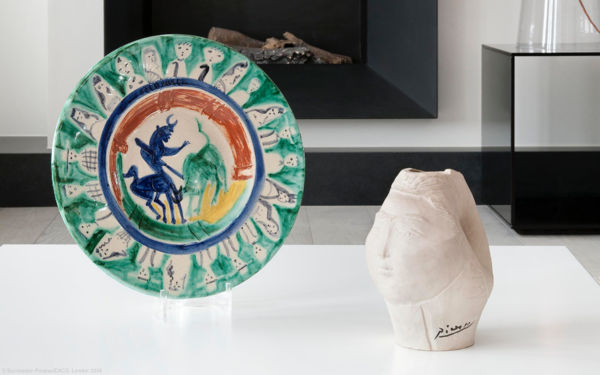 Picasso Ceramics Online auction at Christies