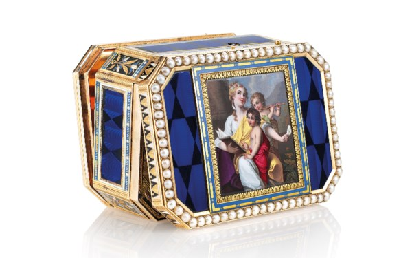 Gold Boxes auction at Christies