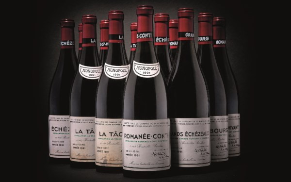 Finest & Rarest Wines & Spirit auction at Christies