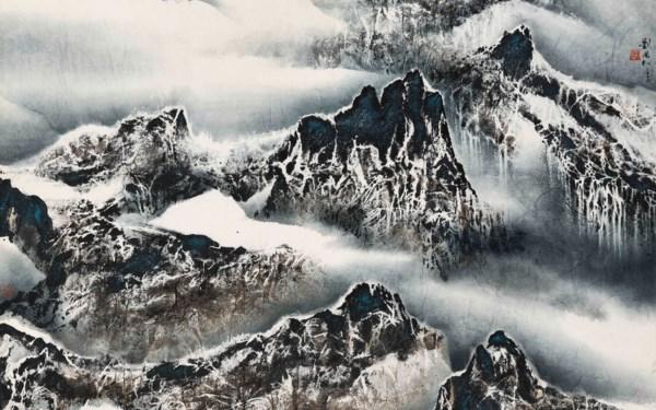 中国当代水墨 auction at Christies