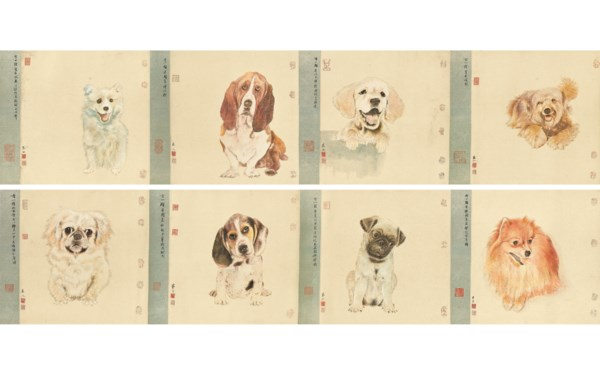 中国近现代画 auction at Christies